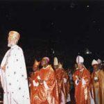 司教様の入場