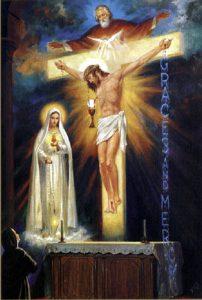 聖三位一体(1929年シスター・ルチアの幻視)