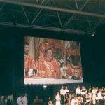 ミサを司式するオランダのプント司教様