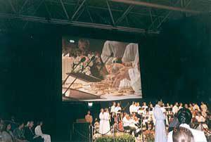 聖体拝領の準備