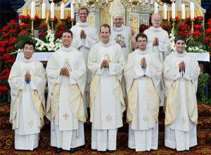 国際宣教会「マリアの家族」新司祭